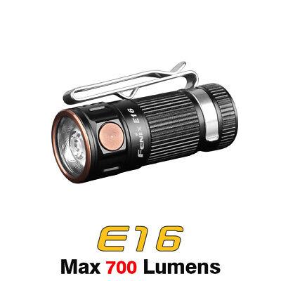 - Fenix E16 XP-L HI Neutral White LED 16340 / CR123A Pocket Light Flashlight Torch