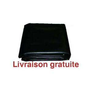 Housse de protection / Faux Leather Fitted Billiard Table Cover 8' Black