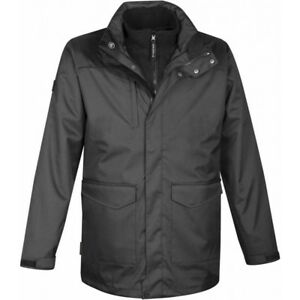 Men's Vortex HD 3 in 1 Jacket - Granite colour