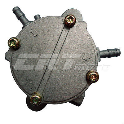 Gas Fuel Pump Valve Petcock Switch for 250cc 300cc Water-cooled Moped Scooter