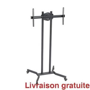 Support a TV sur roulette / Floorstand Bracket on wheels