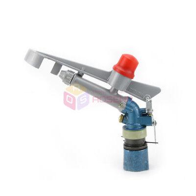 1 Rain Impact Sprinkler Gun 360 Adjustable Water Lawn Irrigation Gun System