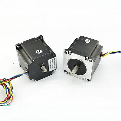 Nema23 Dual Shaft 1a181oz-in Hybrid Stepper Motor  23hs22ds