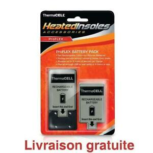 Batterie et chargeur  /  ThermaCELL Heated Insoles ProFLEX Battery Pack