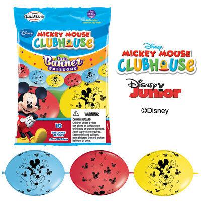 Create Birthday Banner (Mickey Mouse Birthday Party Balloon Create Balloon Banner Qualatex Quicklink)