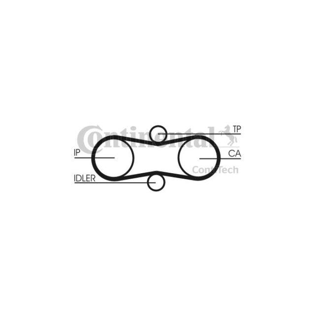 CONTITECH 304 LAHR 082 Timing Belt CT914