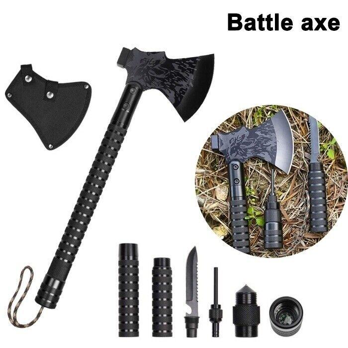 Militär Beil Taktische Äxte Set Tomahawk Outdoor Survival Camping Jagdausrüstung