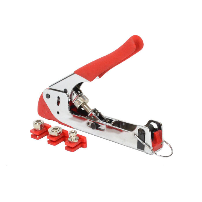 Adjustable Compression Tool RG59/ RG6/ BNC/ RCA Cable Coax Connector Crimp Tool