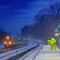 Snow Clearing - Union Station