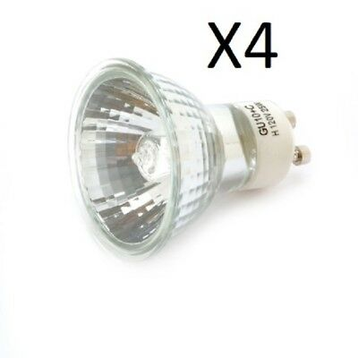 4 New 25 Watt Halogen Replacement Bulbs, GU-10+C, NP5, 120V, For Tart/Wax (25 Watt Halogen Bulb For Wax Warmer)