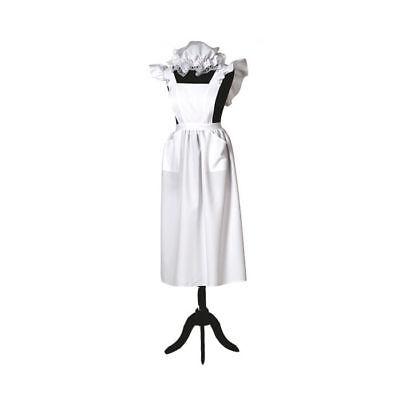 Damen-Kostüm Bauernschürze & Mütze, Einheitsgröße Bauernkostüm   (Bauern Kostüm)