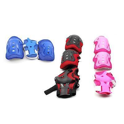 Kids Child Roller Skating Skateboard Knee Elbow Wrist Protector Guard Pad Gear