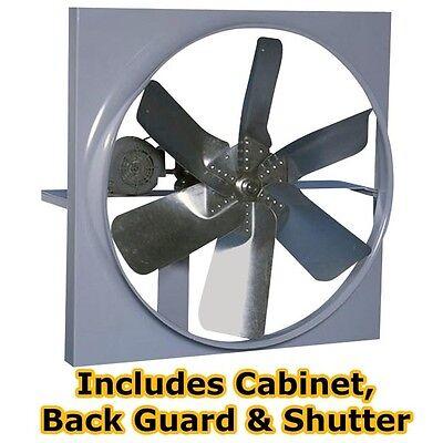36 Belt Driven Exhast Fan - 14541 Cfm - 1 Ph - 16.68.3 Amps - 115230 Volts