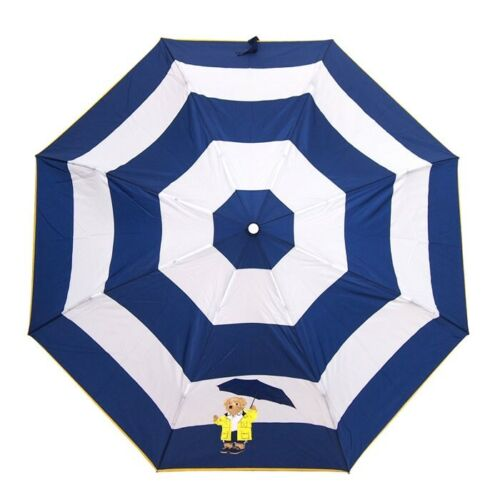 Polo Bear by Ralph Lauren Automatic Umbrella Yellow Raincoat Bear