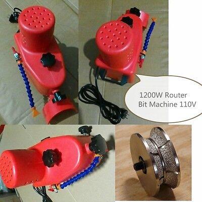 Router Bit Machine 34 Full Bullnose Stone Granite Marble Profiler Countertop