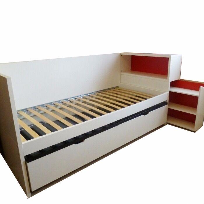 Ikea Flaxa Single Bed Underbed Both Mattresses And Ikea