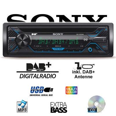 Sony CDX-3201DAB - DAB+ CD MP3 USB Autoradio Radio DAB Antenne Auto Digitalradio