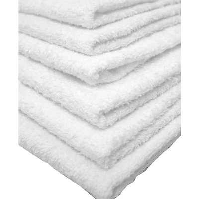 24 NEW 100% COTTON LINENS BATH TOWELS COMMERCIAL GRADE GYM HOTEL MOTEL 24x48