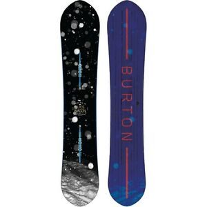 Burton Juice Wagon  Snowboard with Burton Custom bindings