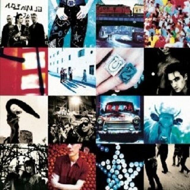 U2 - ACHTUNG BABY (20TH ANNIVERSARY)  CD REMASTERED NEU