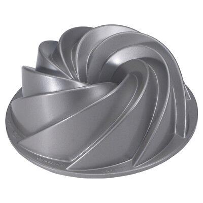 - Nordic Ware Heritage Round Bundt Cake Pan
