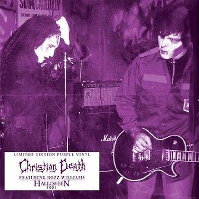CHRISTIAN DEATH Halloween 1981 - LP / Purple Vinyl - US Import