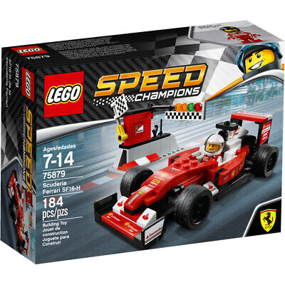 LEGO 75879 Speed Champions Scuderia Ferrari SF16-H F1 - NIB (Retired Product)