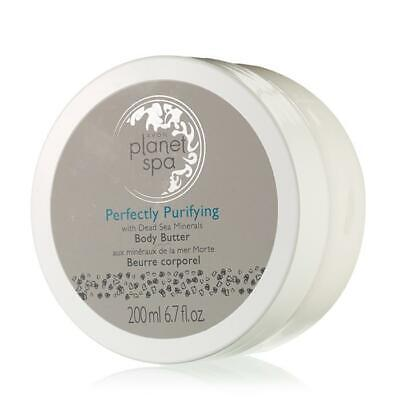 AVON PLANET SPA PERFECTLY PURIFYING WITH DEAD SEA MINERALS BODY BUTTER 6.7 FL OZ