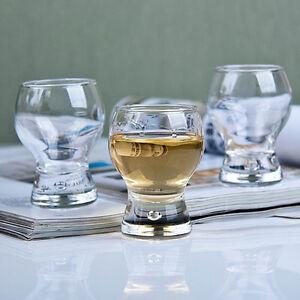 Durobor COSMOS shot liqueur glasses 50ml bubble shot glasses set of 6