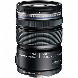 Olympus M.Zuiko 12-50mm f/3.5-6.3 Black Lens with Macro - M4/3 Kinross Joondalup Area Preview