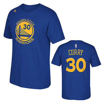 Stephen Curry Adidas Golden State Warriors Nba Boys T Shirt   Youth S  M  L  Xl