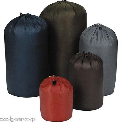 NEW Equinox Bilby Ultralite Stuff Bag 6x11 Ultralight Sack Black Silicone Nylon