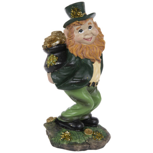 Leprechaun With Pot Of Gold. St Patrick