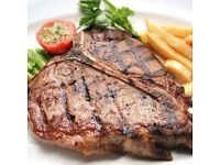 steak and grill chef required