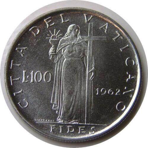 elf Vatican City 100 Lire 1962 Pope Saint John XXIII  Fides