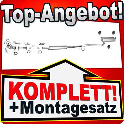 Endschalldämpfer TOYOTA AVENSIS 1.6 Liftback Kombi Stufenheck 2000-2003 Auspuff