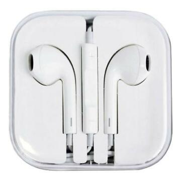 iPhone/iPad/iPod Earphones Oortjes Ecouteur Wit - Helder Gel