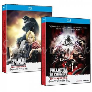 Fullmetal Alchemist: Brotherhood Complete Series Blu-ray Full Collection 1 2 NEW