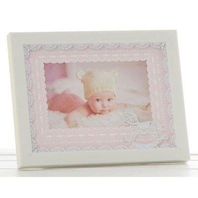 Shudehill Gift ware Baby Girl photo frame, Beautiful, Brand new in box.