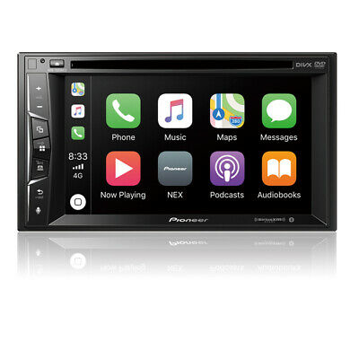 Pioneer AVH-1500NEX Double 2 DIN DVD/CD Player Bluetooth Mirrors iPhone CarPlay