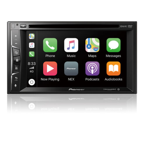 Pioneer AVH-1500NEX Double 2 DIN DVD/CD Player Bluetooth Mirrors iPhone CarPlay