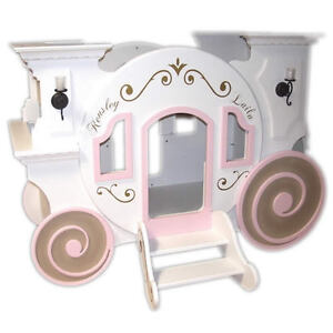 **  PRINCESS  CASTLE  BUNK  BEDS  **