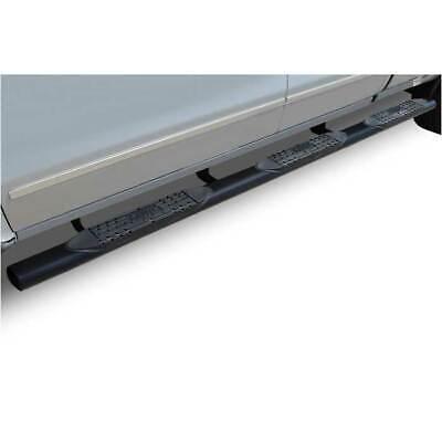 """Raptor Series 4"""" Oval Blk Step Bars for Ram 1500/2500/3500 6.5/8' Bed 02-09 EC"""