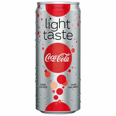 Coca-Cola Light Taste Softdrink Zuckerfrei Einweg 34x 330ml inkl. Pfand MHD 2/21