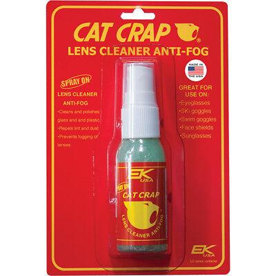 Ek Cat Crap Anti-Fog Glasses Lens Cleaner Spray ()