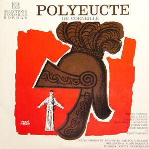 POLYEUCTE-Corneille-Vaneck-Klein-Destoop-Caussimon-FR-Press-SSB-120-LP