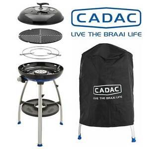 Cadac Carri Chef 2 Gas BBQ & Free Cover