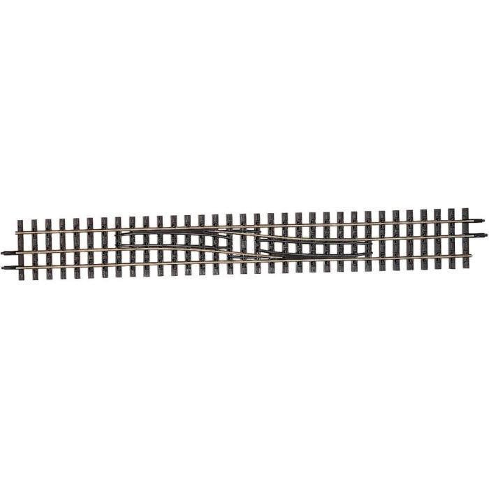 Dual gauge track straight exch. H0/H0e (00/009) L to R- Tillig 85185