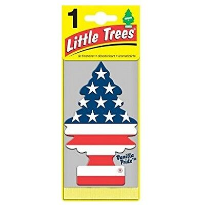 12 Pack Car Freshener Little Trees Air Freshener Vanilla Pride Scent - New