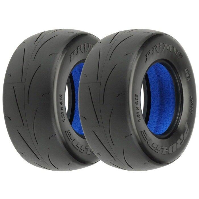 """2 MC PRO10113-17 Pro-Line Prime SC 2.2//3.0/"""" Short Course Truck Slick Tires"""